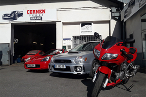 Photo du garage à L'ARGENTIERE LA BESSEE : Cornen Sport Garage